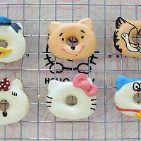 百变凯蒂猫甜甜圈的做法图解19