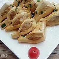 豆腐塞肉#我要上首页清爽家常菜#的做法图解7