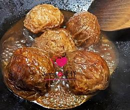 肉酿面筋的做法