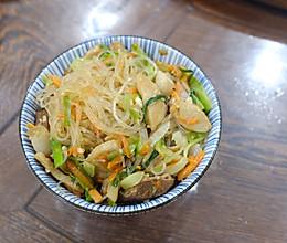 闽南风味半卤炒冬粉(龙口粉丝)的做法