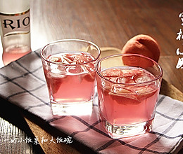 蜜桃小姐夏日特饮#RIO鸡尾酒#的做法