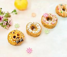 #秋天怎么吃#苹果豆沙甜甜圈的做法