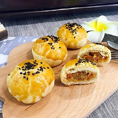 火腿肉松酥(九阳烤箱30j3试用)