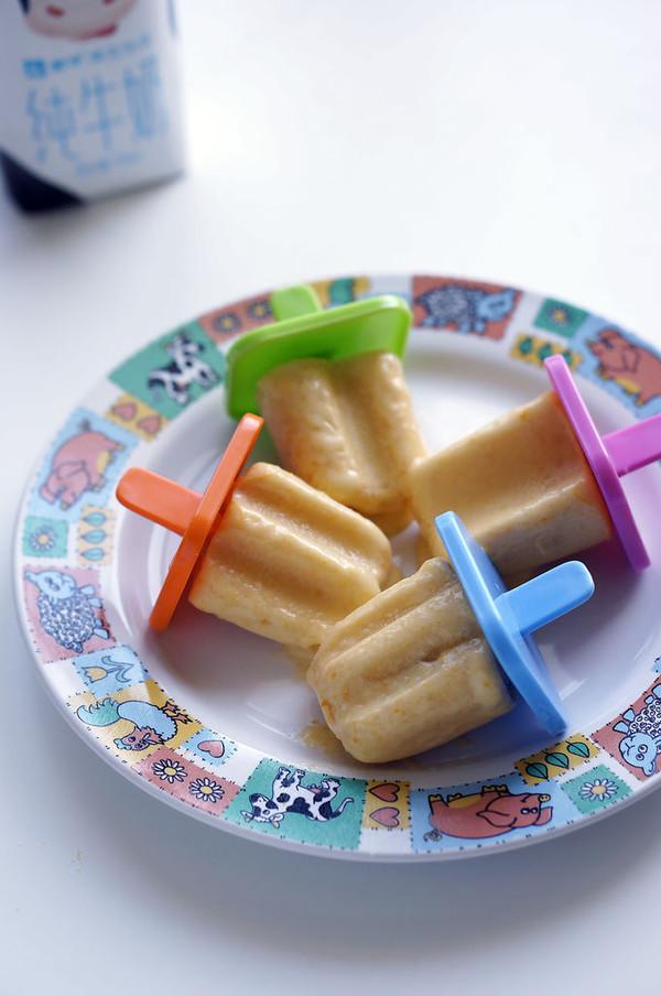 【蒙牛 嗨milk羽泉精选牧场牛奶】南瓜糯米牛奶冰棍