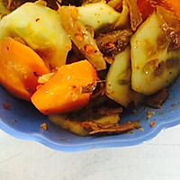饭扫光凉拌胡萝卜黄瓜