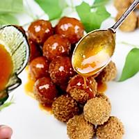 """茄汁紫薯球#""""宴""""遇灵山,拈花品素#的做法图解16"""