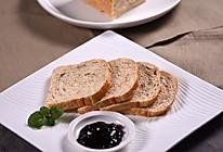 烤箱食谱——无糖全麦面包的做法