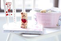 #新年自制伴手礼,红红火火一整年!# 雪恋双莓果雪花酥的做法