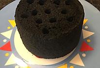 煤球蛋糕+#跨界烤箱探索味来#的做法
