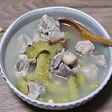苦瓜排骨汤吃起来不苦的做法