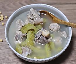 苦瓜排骨汤吃起来不苦的做法的做法