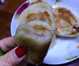 香蕉奶香糯米饼的做法