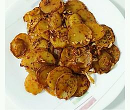韩式辣炒土豆片的做法