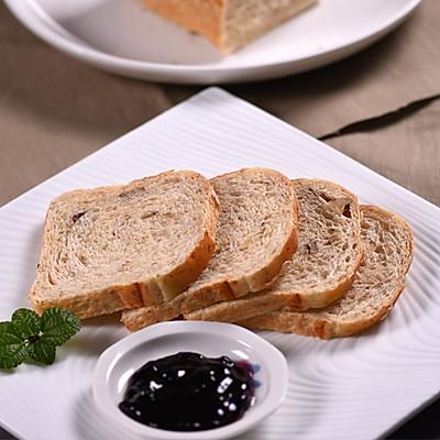 烤箱食谱——无糖全麦面包