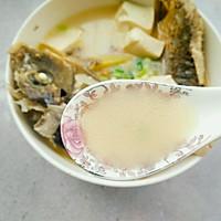 鲤鱼豆腐汤的做法图解15