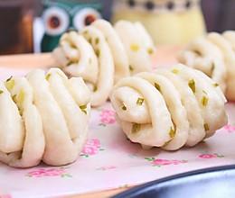 香葱花卷 宝宝健康食谱的做法