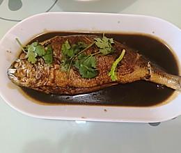 简易版红烧鱼的做法