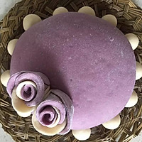 紫薯玫瑰花蛋糕的做法图解20