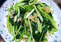 猪油渣辣椒炒乌塌菜的做法