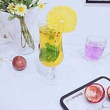 #爱乐甜夏日轻脂甜蜜#百香果柠檬汁