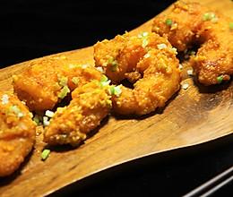 有家鲜厨房:金沙大虾的做法