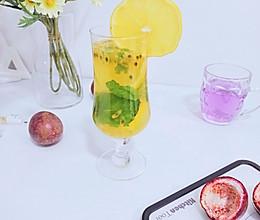 #爱乐甜夏日轻脂甜蜜#百香果柠檬汁的做法