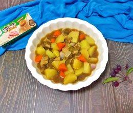 胡萝卜土豆烧牛腩的做法