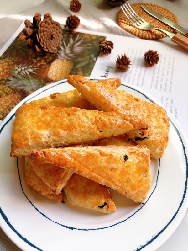 海苔肉松司康的做法