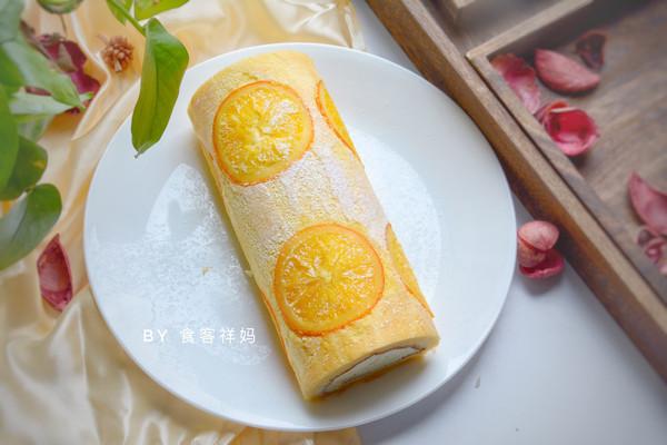 美味香橙蛋糕卷的做法