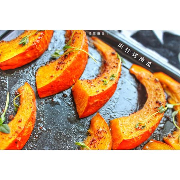 南瓜季,肉桂烤南瓜的做法