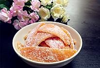 健康小零食—糖渍柚子皮的做法