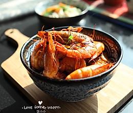 洋葱烩对虾的做法