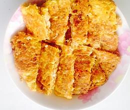 清真剩米饭鸡蛋饼的做法