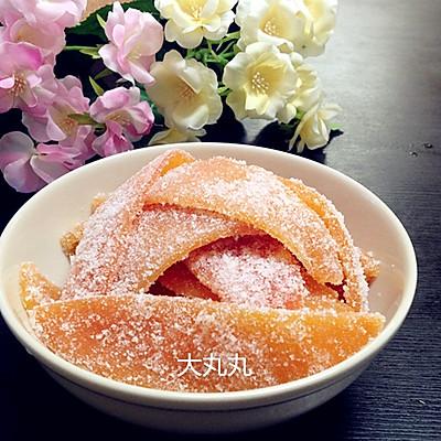 健康小零食—糖渍柚子皮