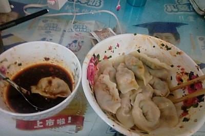 豆腐鸡蛋饺子