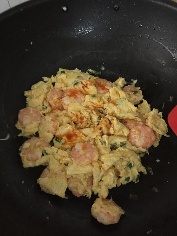 家常菜:虾仁滑蛋