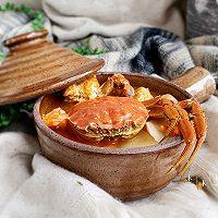 #好吃不上火#螃蟹年糕汤的做法图解11