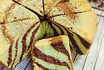 斑马戚风蛋糕的做法