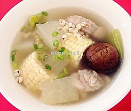 【❤汤】薏仁冬瓜玉米排骨汤的做法