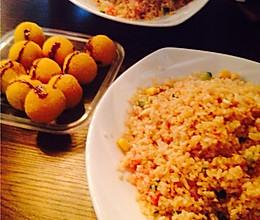 贝亚国王西红柿蛋炒饭的做法