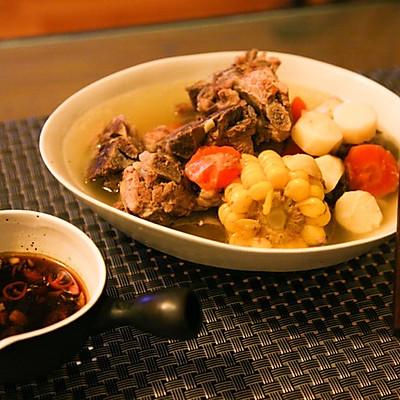 暖心三色排骨汤的做法 步骤6