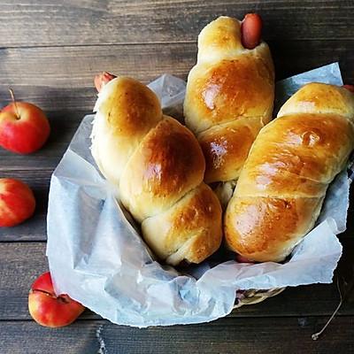 超级美味的【火腿面包卷】