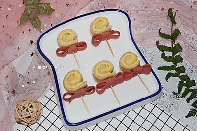 #安佳儿童创意料理#吐司棒棒糖