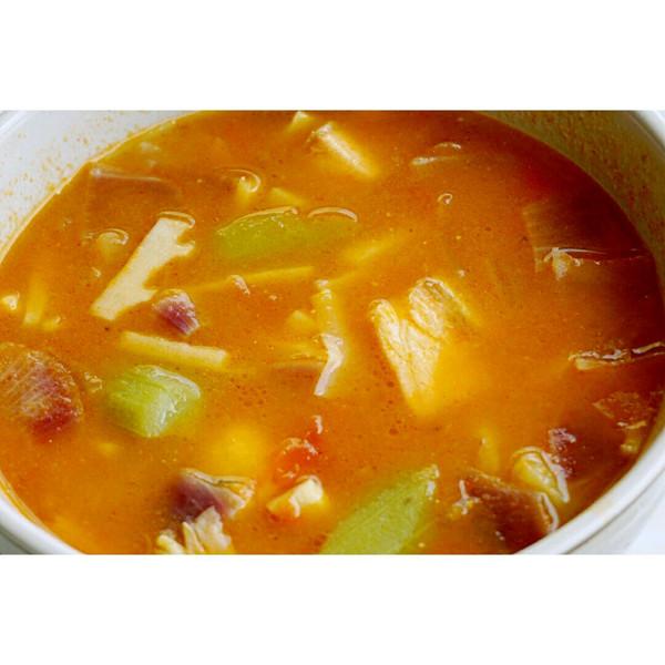 三文鱼杂蔬大酱汤的做法