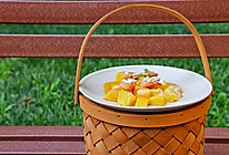 芒果鲜虾沙拉的做法