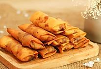 韭黄肉春卷-迷迭香的做法
