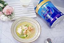 虾仁丝瓜豆腐汤的做法