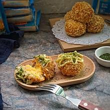 芝心黄金土豆虾球