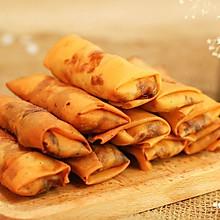 韭黄肉春卷-迷迭香