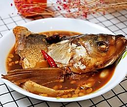 炖胖头鱼的做法